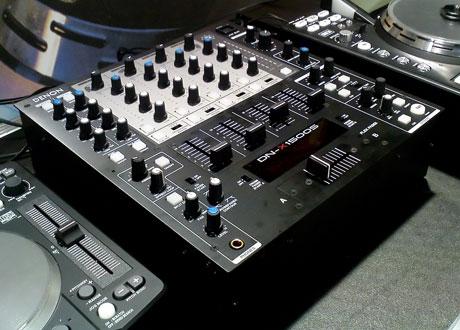 Denon DN-X1500SK black faceplate