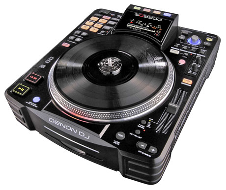 denon, dj, sc3900, media player, Engine software