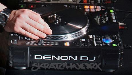 Denon, DJ, SC3900, DJ Switch