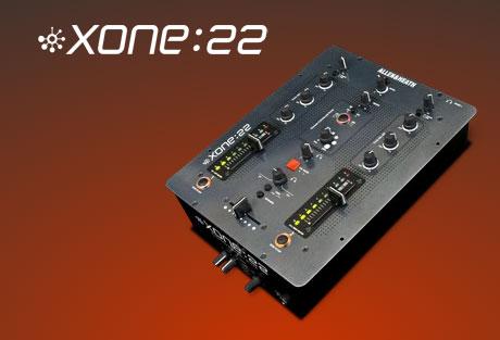 Allen Heath xone:22 mixer NAMM 2009
