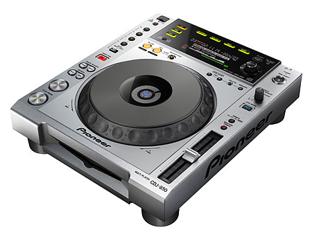 Pioneer CDJ-850 rekordbox MIDI HID controller