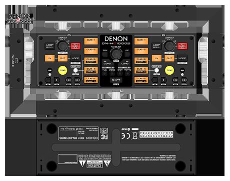 denon HC1000 HC-1000 Serato controller