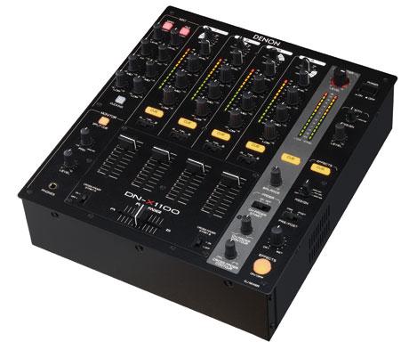 denon DN-X1100 4 channel mixer matrix