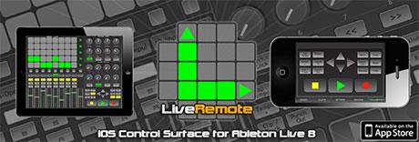 iximix liveremote ipad iphone ableton live controller