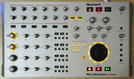 Numark Mixmeister control review