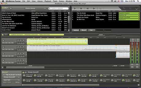 Numark MIxmeister Studio Fusion Mac PC software