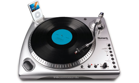 Numark TTi vinyl recorder to iPod USB deck turntable
