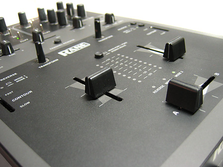 Rane TTM56 Review - fader area