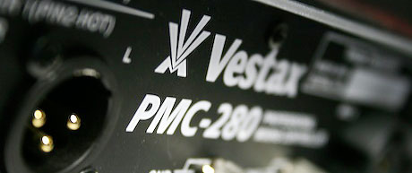 Vestax PMC-280 4 channel mixer with effects