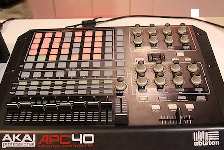 akal apc40 ableton controller
