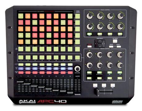 akai APC40 Ableton official controller midi