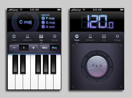 bjango beats dj app iPhone iPod touch
