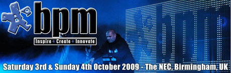 bpm show 2009 NEC tickets on sale