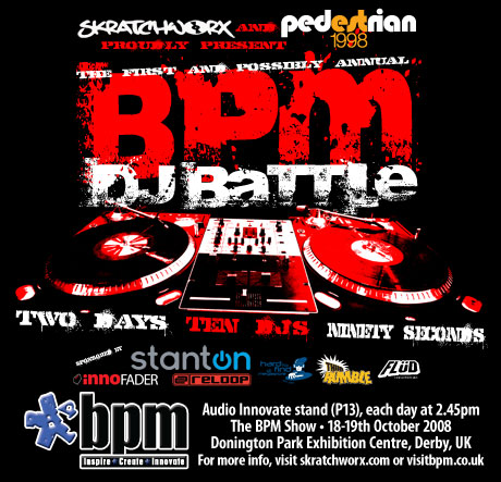 BPM show skratchworx battle 2008