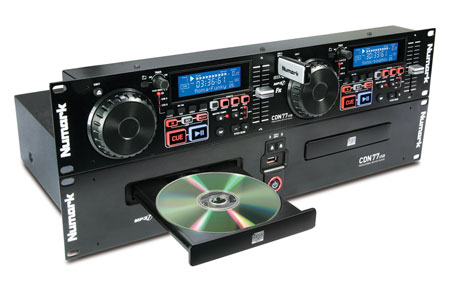 cdn77usb rack mount 1u Numark Namm 2011 DJ