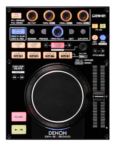 Denon DN-SC2000 midi controller DJ Expo 2010