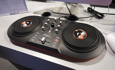 ION discover DJ midi controller