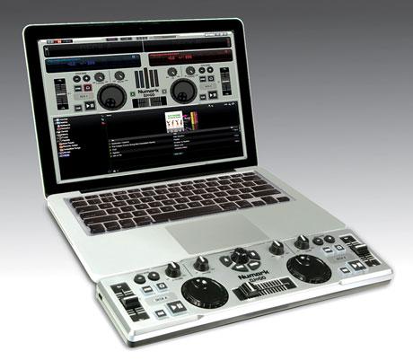 dj2go side Controladora MIDI DJ 2 Go, da Numark: Pequena e eficaz
