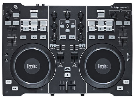 Hercules DJ 4Set Midi controller NAMM 2011