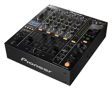 Pioneer, DJM-850, djm, 850, midi, mixer