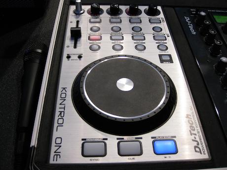 DJ Tech Pro Kontrol One MIDI controller