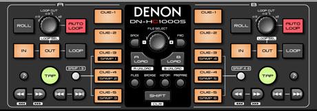 Denon DN-HC1000s Serato Scratch Live controller