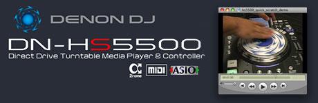 denon DN-HS5500 demo