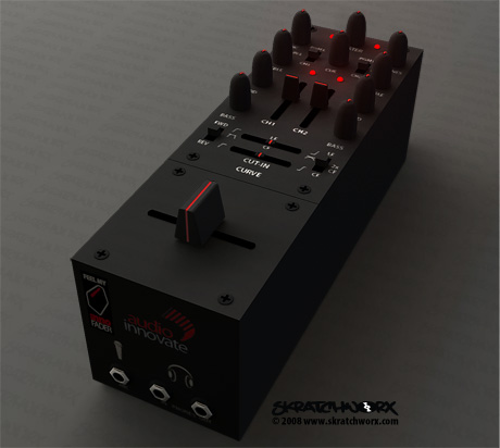 Audio Innovate skratchworx faderbox