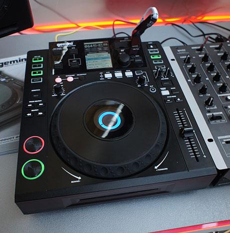 Gemini CDJ-700 Musikmesse 2011