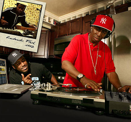 Grandmaster Flash Traktor Scratch