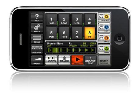 IK multimedia Groovemaker iPhone app