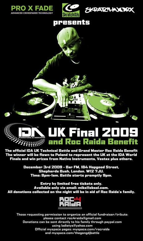 IDA final 2009 roc raida benefit