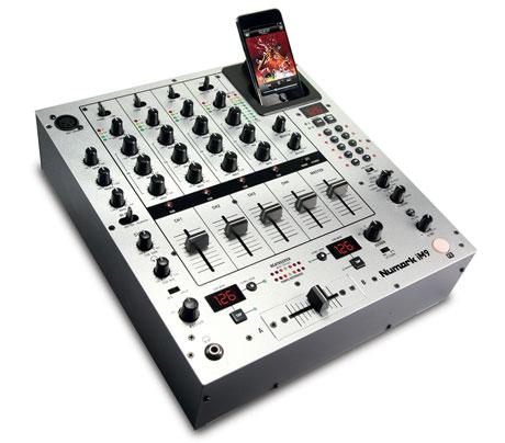 numark iM9 mixer NAMM 2011 DJ