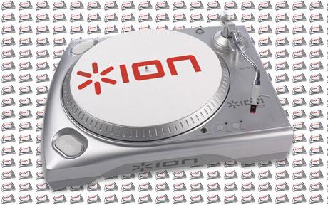 ion-audio ship 1,000,000 one millionth usb turntable