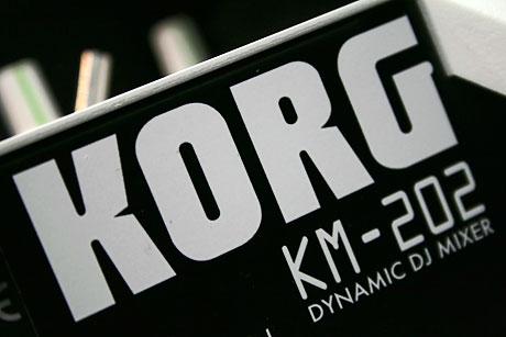 Korg KM-202 KM-402 KM202 KM402 mixer with effects review