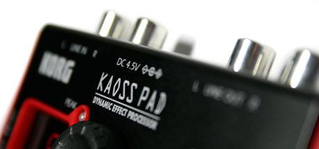korg mini KP kaoss pad review