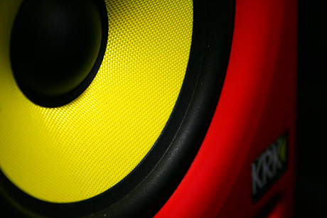 KRK Rokit RP5 Red HTFR Monitor review