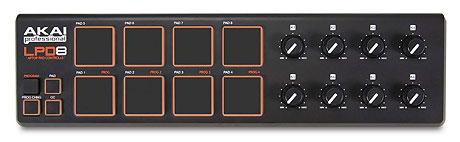 Akai LPD8 midi controller Summer NAMM
