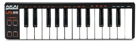 Akai LPK25 keyboard controller Summer NAMM