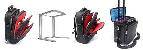 magma bags range digi trolley laptop stand DJ