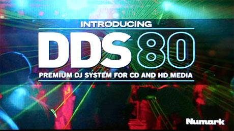 Numark DDS80 hard disk controller