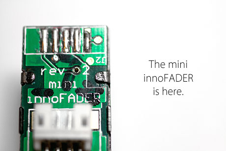 audio innovate innofader mini cross fader