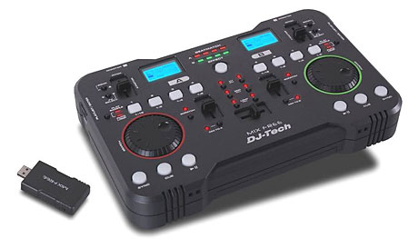 DJ Tech Pro Mix Free wireless controller