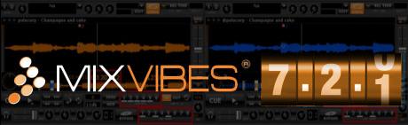 mixvibes v7.2.1 update dvs midi DJ software