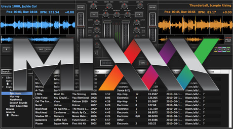 Mixx DJ Software v 1.8