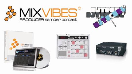 Mixvibes sampler contest