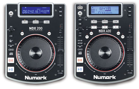 numark NDX200 NDX400 CD turntable deck USB