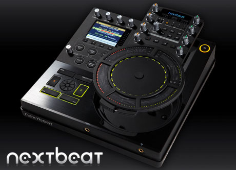 nextbeat NXT-1000 digital DJ controller wireless wacom