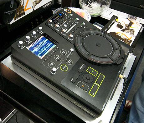 wacom dj nextbeat dj console