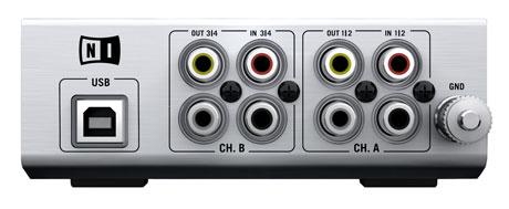audio 4 dj native instruments sound card